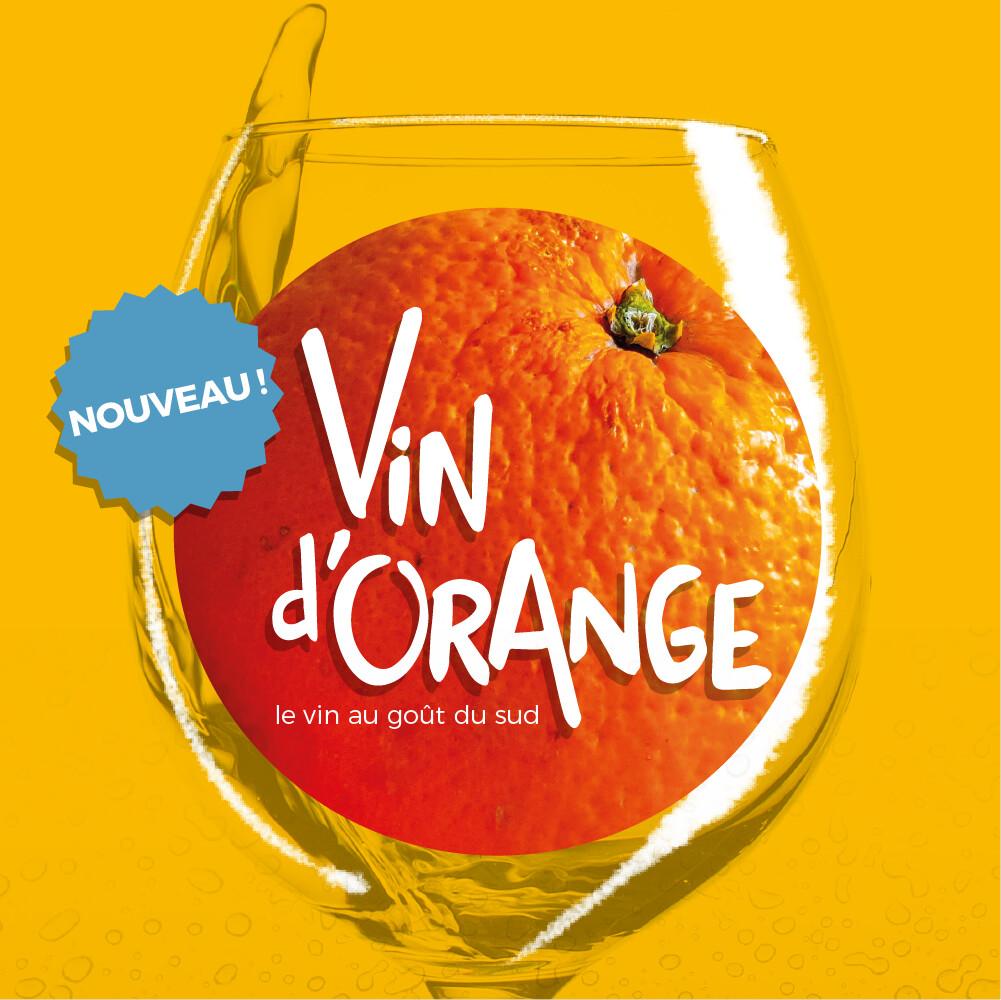 00 - LE CÔTE D'AZUR - Vin d'Orange, le vin au goût du sud 750mL