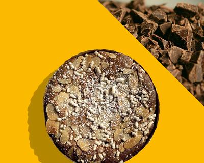 02 - LE CÔTE D'AZUR - Le Gourmand- au Chocolat Noir (4 personnes)