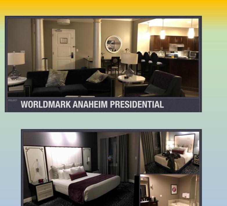 Worldmark Anaheim Presidential Suite $3000