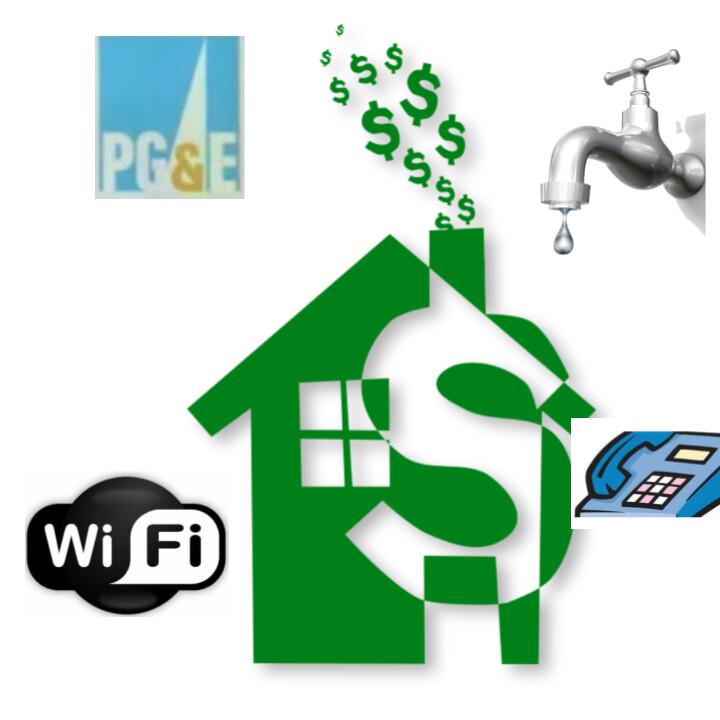 護持中心雜費 (PG&E,水費,Phone/Internet)$25,$50,$99