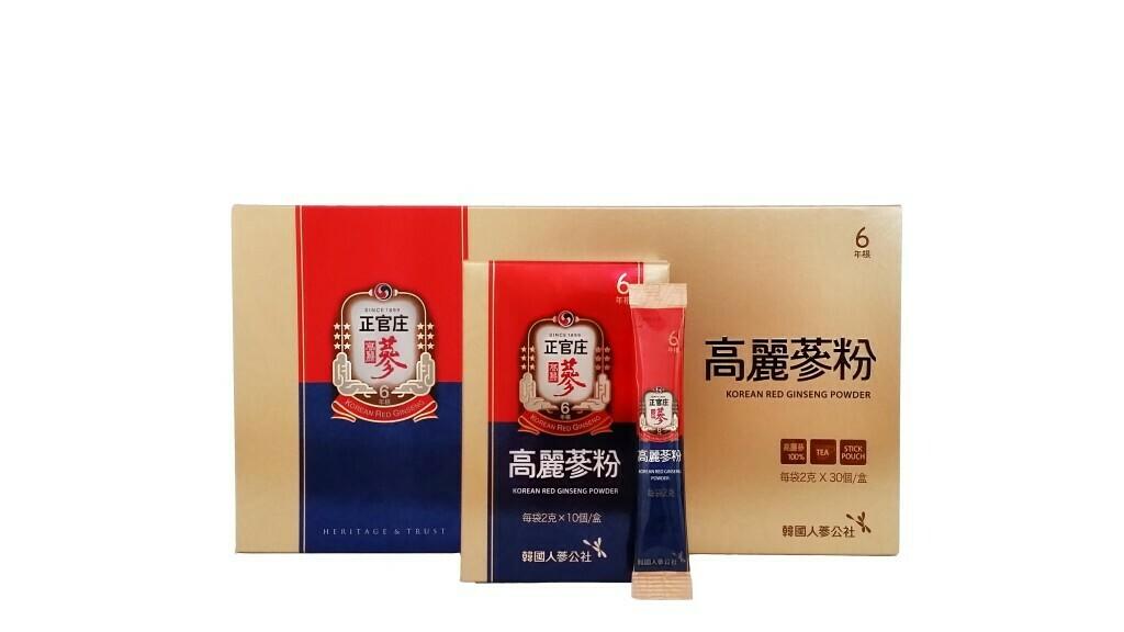 正官庄 -高麗蔘粉輕便裝 (禮盒裝) (30包)