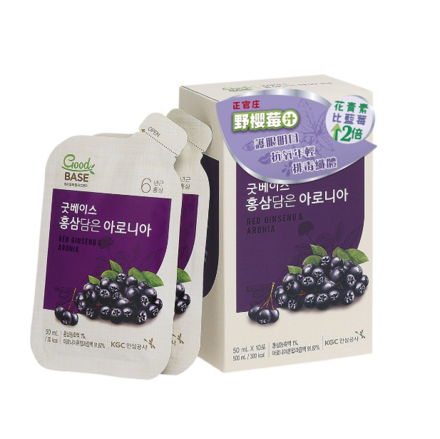 正官庄 -野櫻莓汁 (10包)