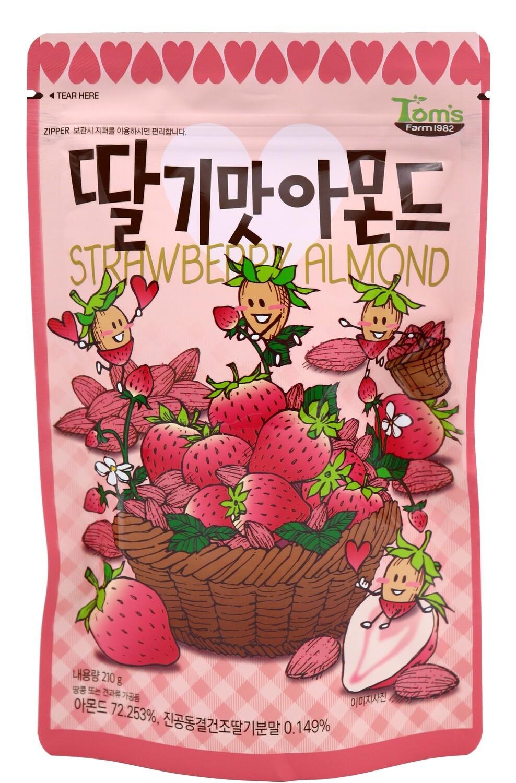 Tom's Farm 草莓杏仁 210g