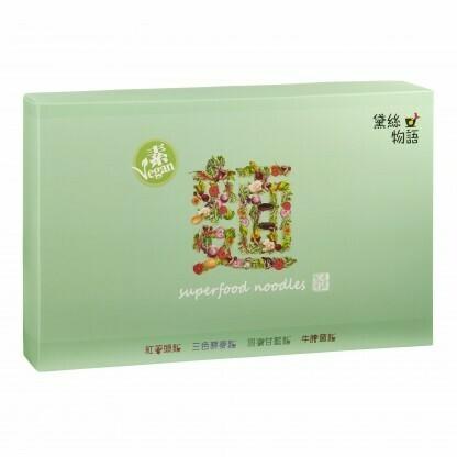 黛絲物語 超級食物素麵(400克/8個)