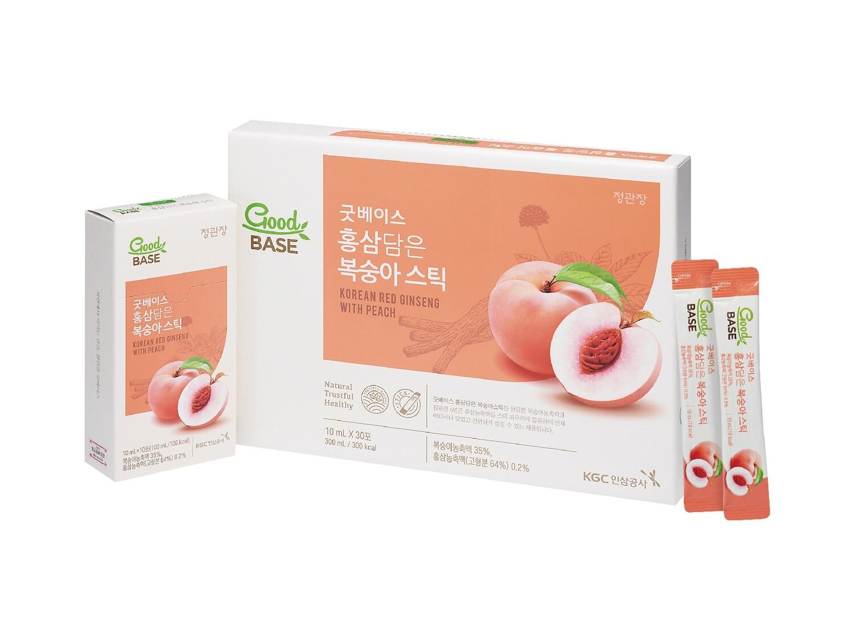 正官庄 - 水蜜桃液禮盒裝 (30包)