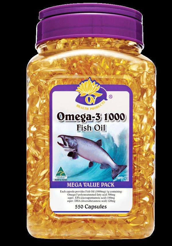 澳至尊深海魚油丸 550粒 (1000mg/粒)