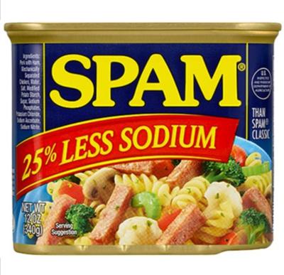 Spam - 25% 減鹽午餐肉