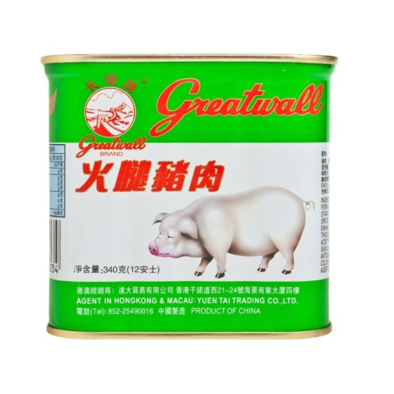 長城牌火腿豬肉 340G