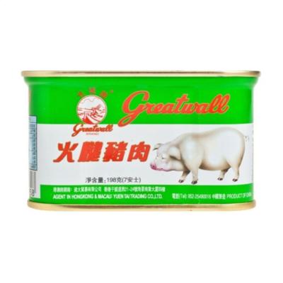 長城牌火腿豬肉 198G