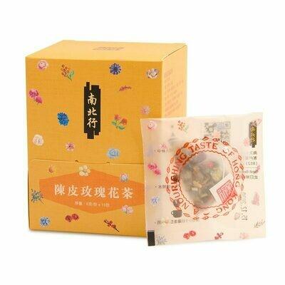 【南北行】陳皮玫瑰花茶15包