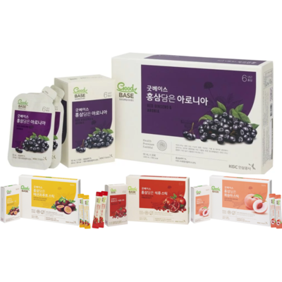正官庄 - 野櫻莓30條+$120多1盒紅石榴/熱情果/水蜜桃