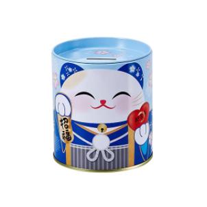 幸福貓貓存錢筒 (藍) Kaori (Blue)