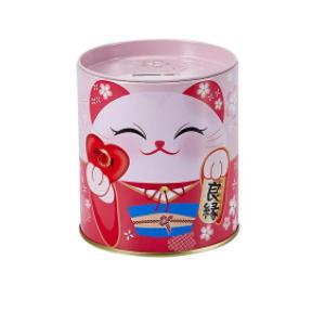幸福貓貓存錢筒 (紅) Kaori (Red)