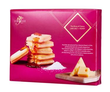 湖鹽蜂蜜芝士曲奇 - 16件Lake Salt and Cheese with Honey Cookie - 16pcs