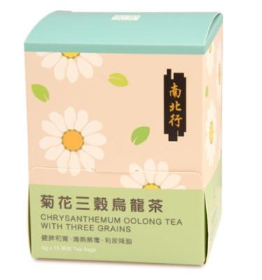 【南北行】菊花三穀烏龍茶(15包/盒)