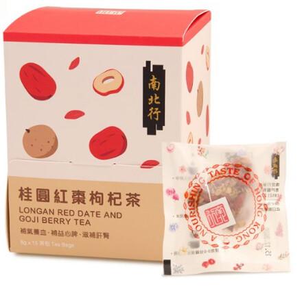【南北行】桂圓紅棗枸杞茶(15包/盒)