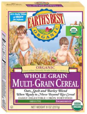 EARTH'S BEST 有機全榖多種穀物粉 227克 8OZ