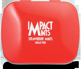 IMPACT無糖薄荷糖(草莓味)