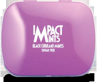 IMPACT無糖薄荷糖(黑加侖子味)