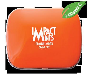 IMPACT無糖薄荷糖(香橙味)+維他命C
