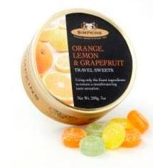 Simpkins 橙/檸檬/西柚口味糖