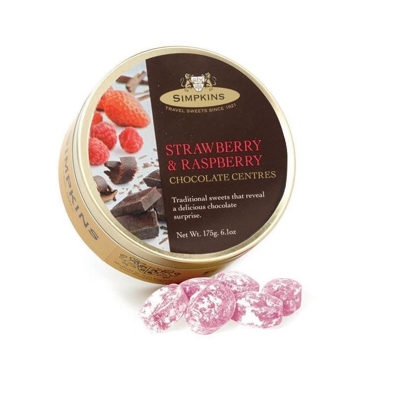 Simpkins 草莓/桑莓朱古力夾心