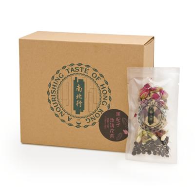 【南北行】黑杞子玫瑰花茶10包