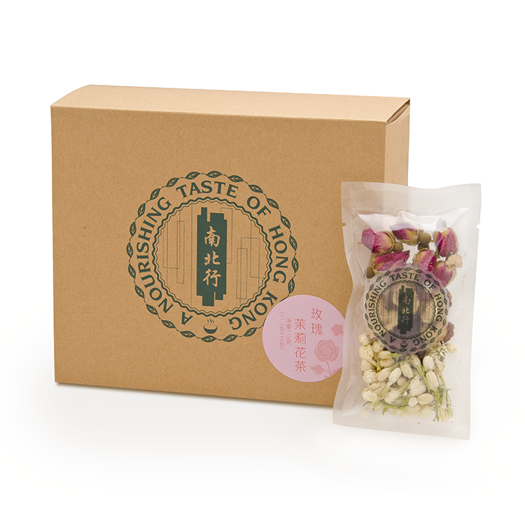 【南北行】玫瑰茉莉花茶10包