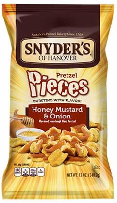 Snyder's 蜜糖芥末洋蔥酥片12安士