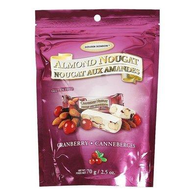 GBB 加拿大杏仁鳥結糖 – 鬆軟紅莓 70克