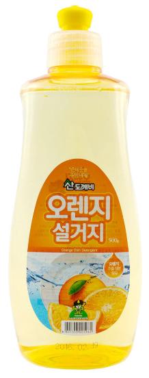 山精靈 - 天然橙香洗潔精