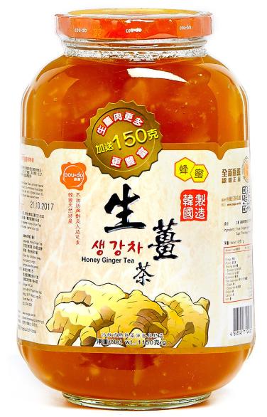 高島 - 蜂蜜生薑茶