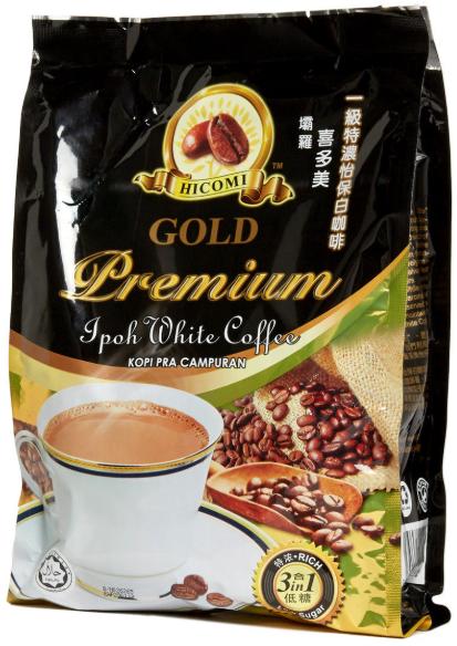 喜多美3合1特濃白咖啡