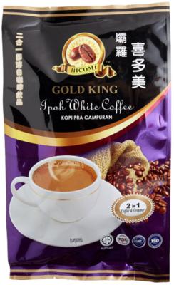 喜多美 - 2合1即溶白咖啡飲品 (咖啡&奶精)