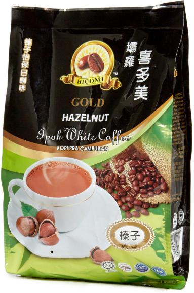 喜多美 - 3合1榛子白咖啡
