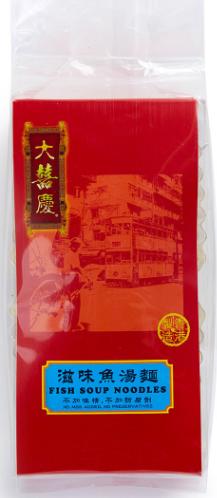 大囍慶 - 滋味魚湯麵 (袋裝) (300克/6個)