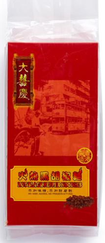 大囍慶 - 火熱黑胡椒麵 (袋裝) (300克/6個)