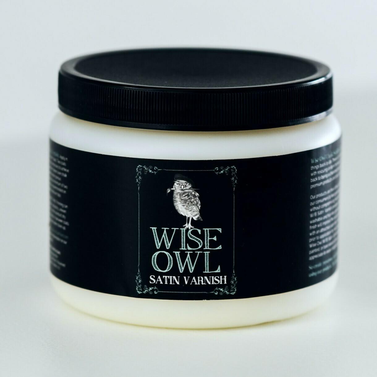 32 Oz Wise Owl Satin Varnish