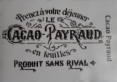 Cacoa Payraud Stencil