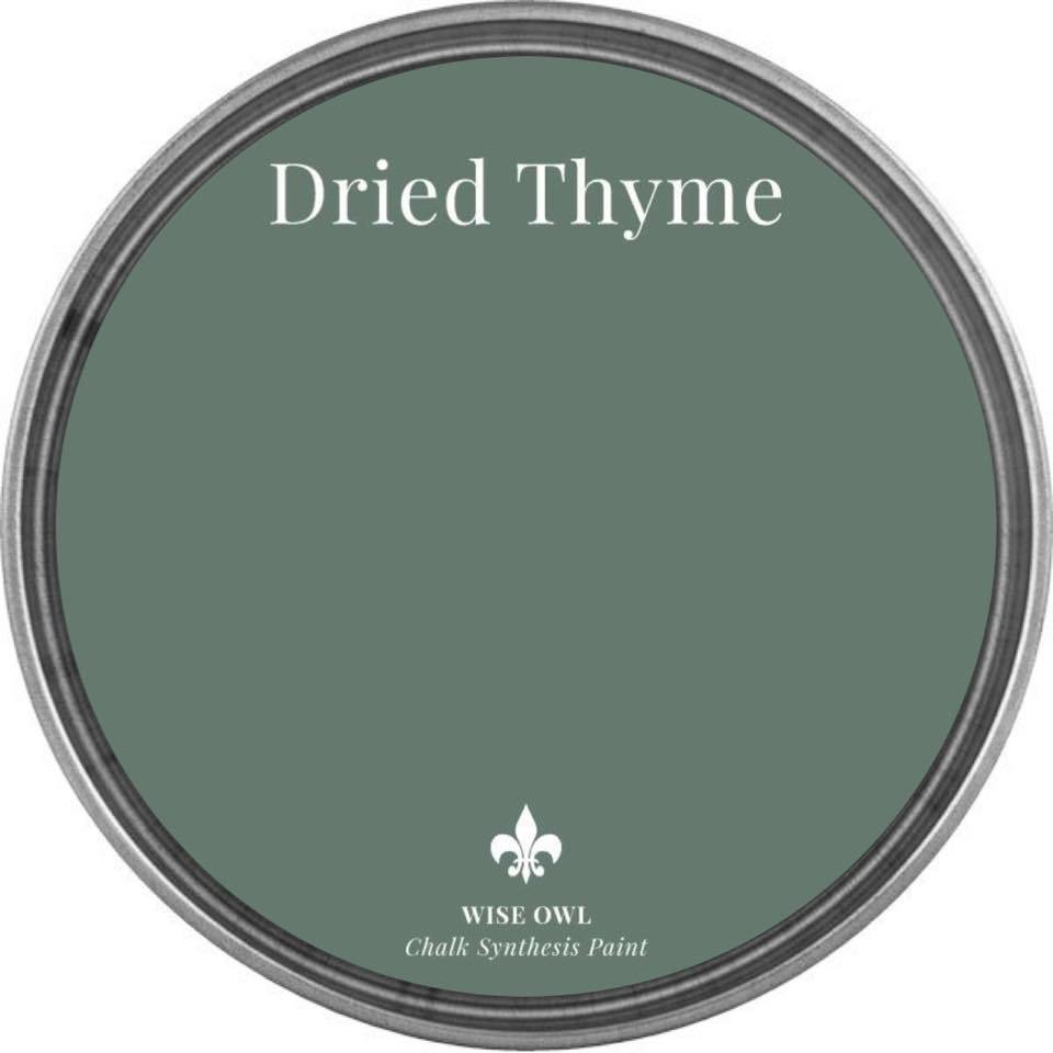 Dried Thyme Wise Owl Chalk Synthesis Paint – Pint (16 oz)