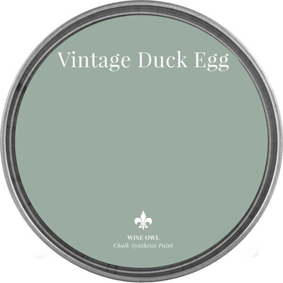 Vintage Duck Egg Wise Owl Chalk Synthesis Paint – Pint (16 oz)