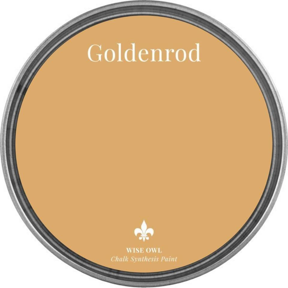 Goldenrod Wise Owl Chalk Synthesis Paint – Pint (16 oz)
