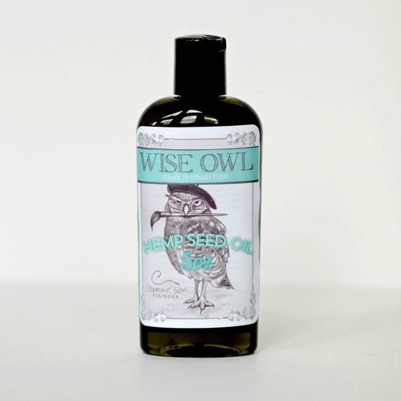 Wise Owl Hemp Seed Oil - 8oz