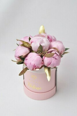 Small Bucket Peonies (Seasonal; Inquire first re. availability)