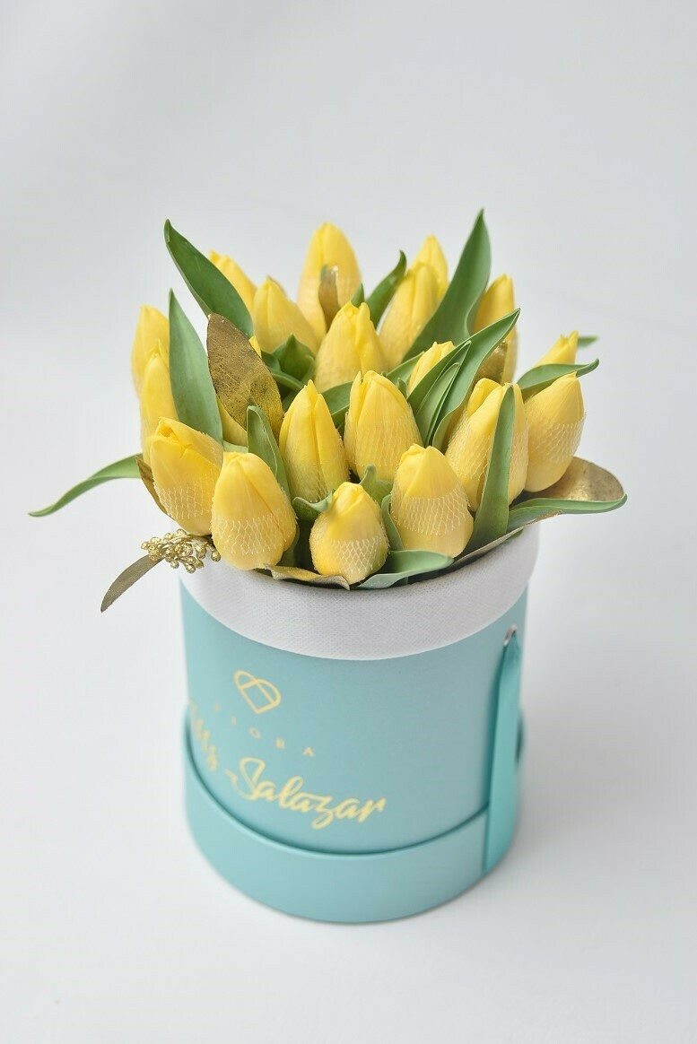 Small Bucket Tulips (Inquire first re. availability)