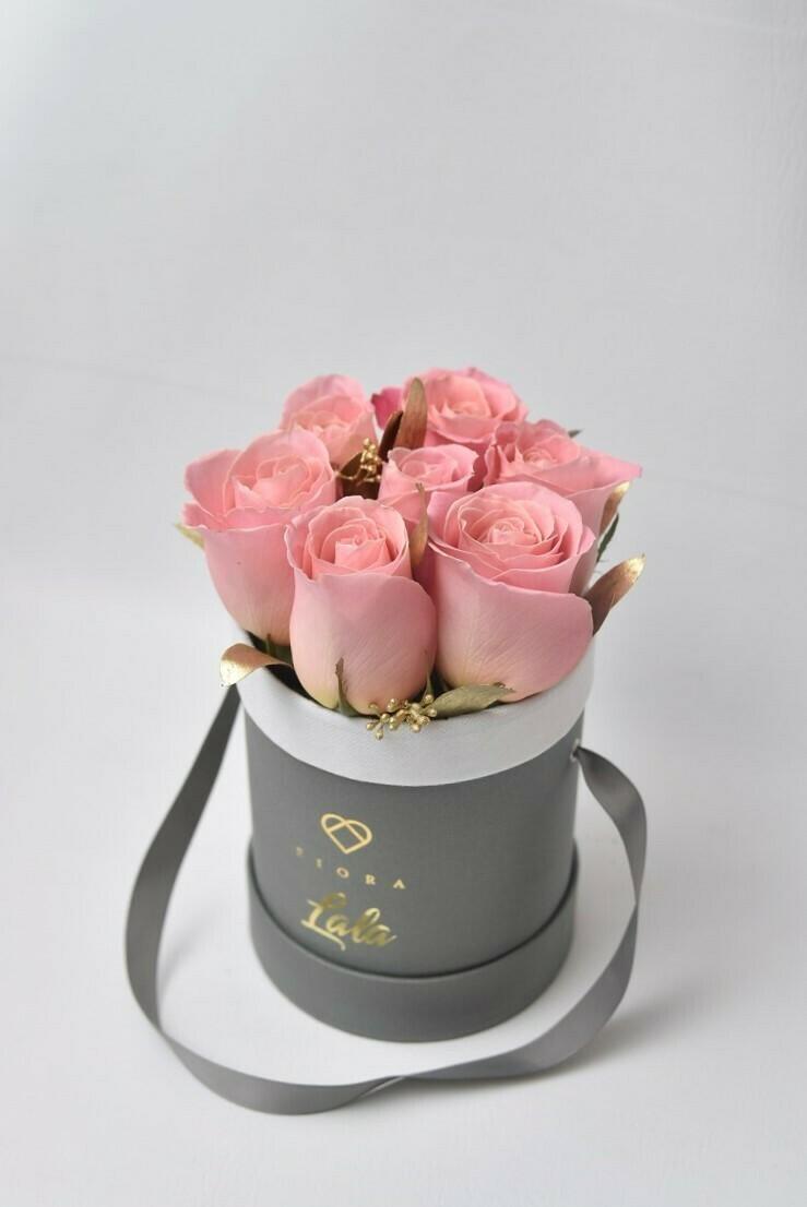 Small Bucket (7 Roses)