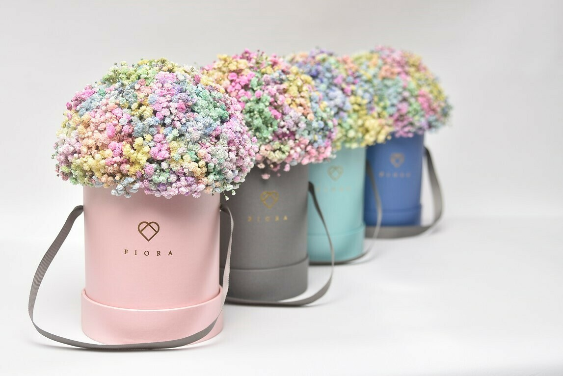 "Small Bucket ""Cotton Candy"""