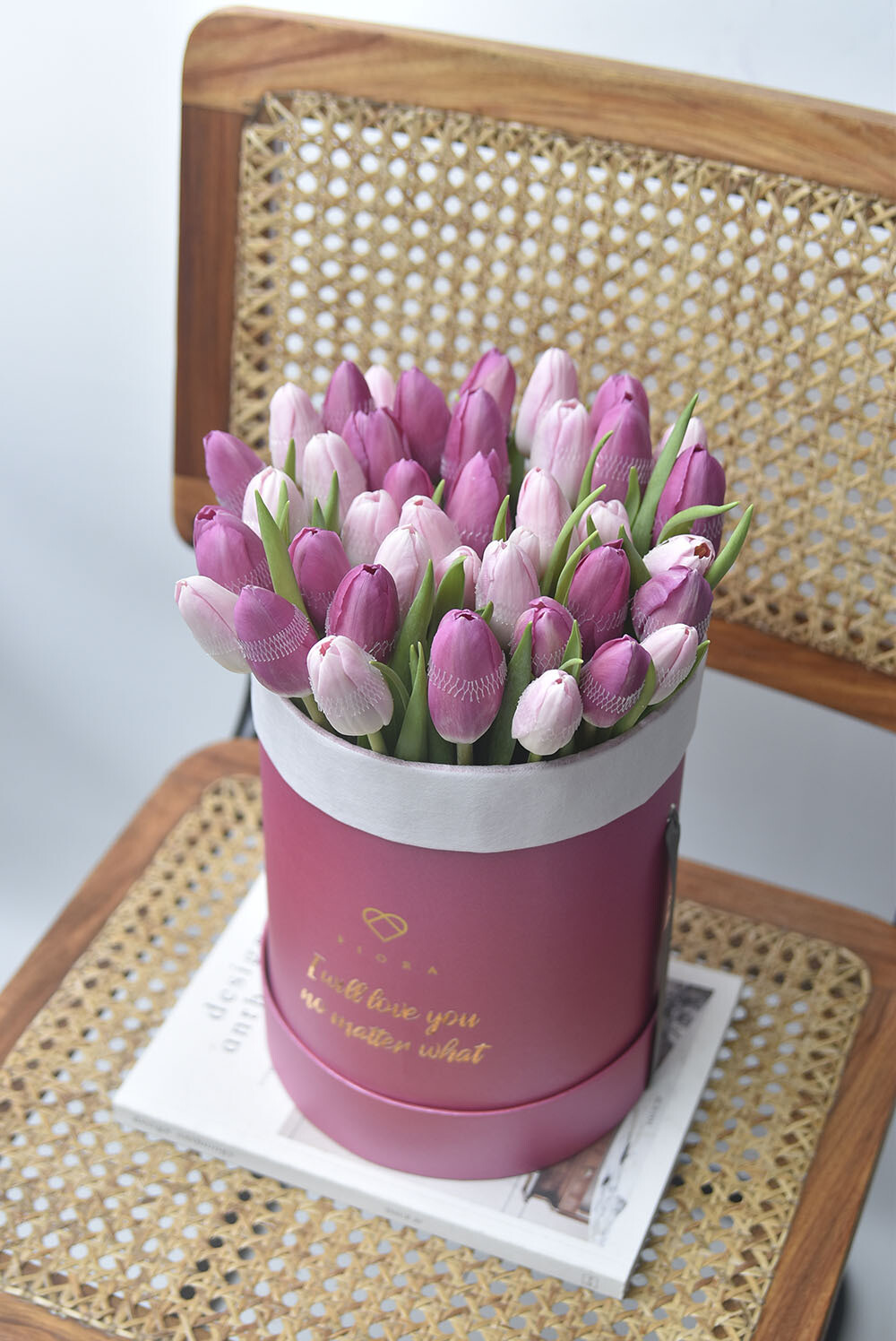 Big Bucket Tulips (Inquire first re. availability)