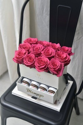 NUTELLA SURPRISE (12 Fresh Roses)