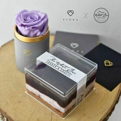 ForeverFiora + Fruit CubeCake